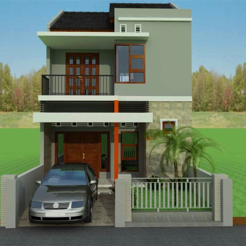 Renovasi Rumah Minimalis 2 Lantai Type 36  rumah minimalis 2 lantai type 3672