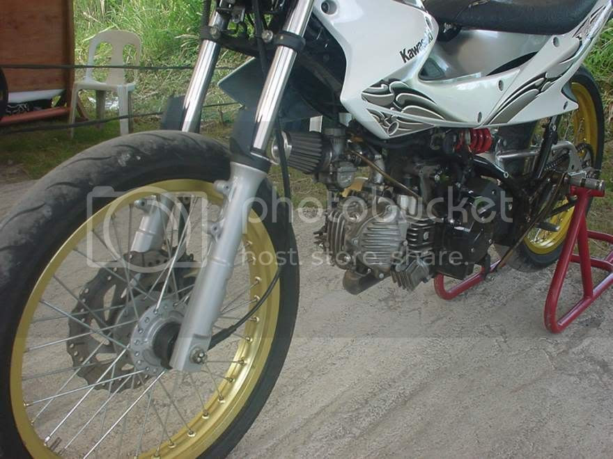 underbone tuner: Featured Race Bikes: CryptonZ and