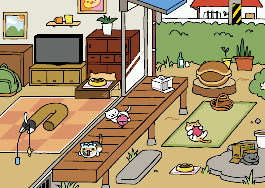 Neko Atsume Kitty Collector: Mobile Game Miniview