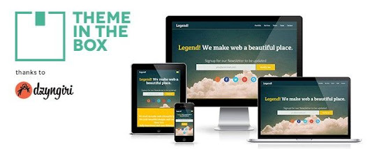 Theme In The Box  » Legend: Free Responsive One Page WP Theme