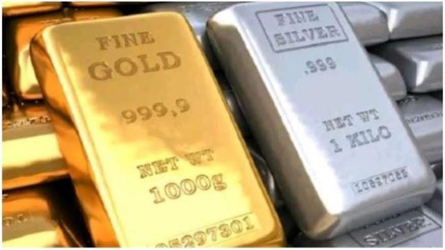 Gold Rate Today : सोना और चांदी के दाम में भारी गिरावट, जानिए कितना हुआ सस्ता