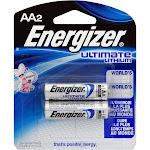EL91-BP2 AA-2 Lithium Batteries