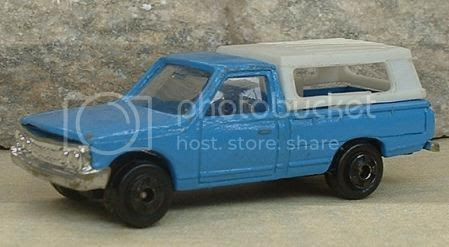 Image result for 1975 datsun pickup with a shell