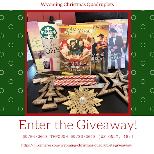 Wyoming Christmas Quadruplets Giveaway - Jill Kemerer | Author