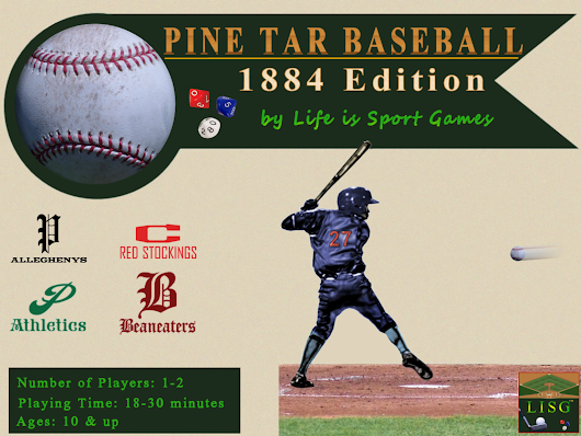 Pine Tar Baseball 1884: Dice Simulation of a Classic Season
