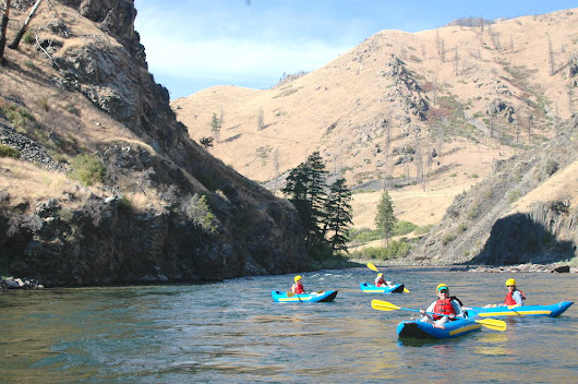 August on the Middle Fork of the Salmon - ECHO River Trips