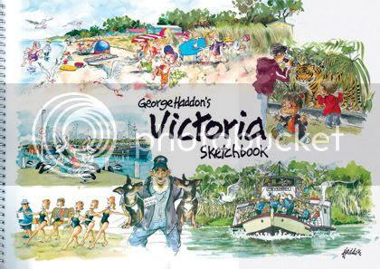 George Haddon's Victoria Sketchbook