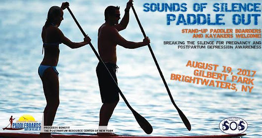 Donate Now: Sounds of Silence Paddle Out To Benefit Postpartum Resource Center of NY - on GroupRev