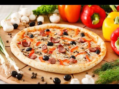 video que muestra Como Hacer una Pizza en 40 Segundos