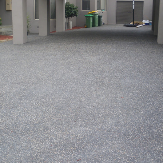 Exposed Aggregate Concrete Driveways Melbourne