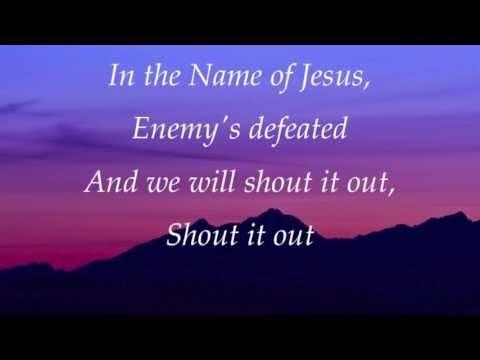 In The Name Of Jesus Enemies Defeated Lyrics