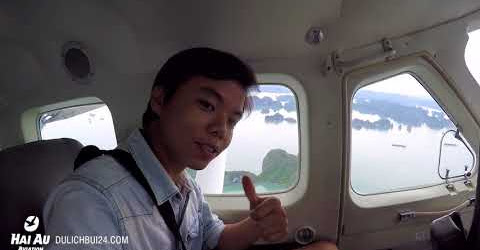 """Trải nghiệm bay thủy phi """"cực đã"""" ở vịnh HạLong"""