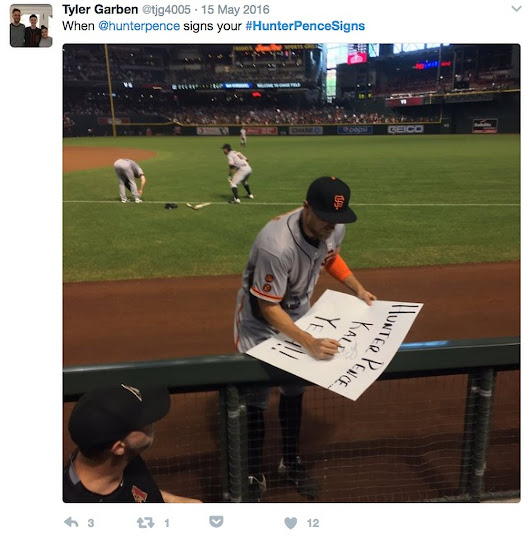 The best Hunter Pence signs (and sign tweets) of all time