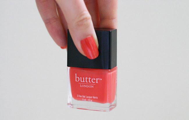 Butter London Nail Polish in Jaffa