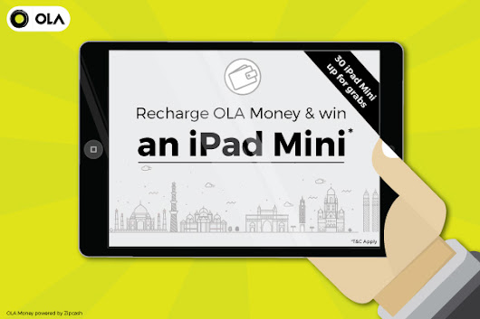 Get an iPad Mini with Ola Money! | Olacabs Blog