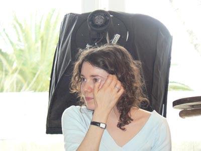 Marie-Laure épuisée