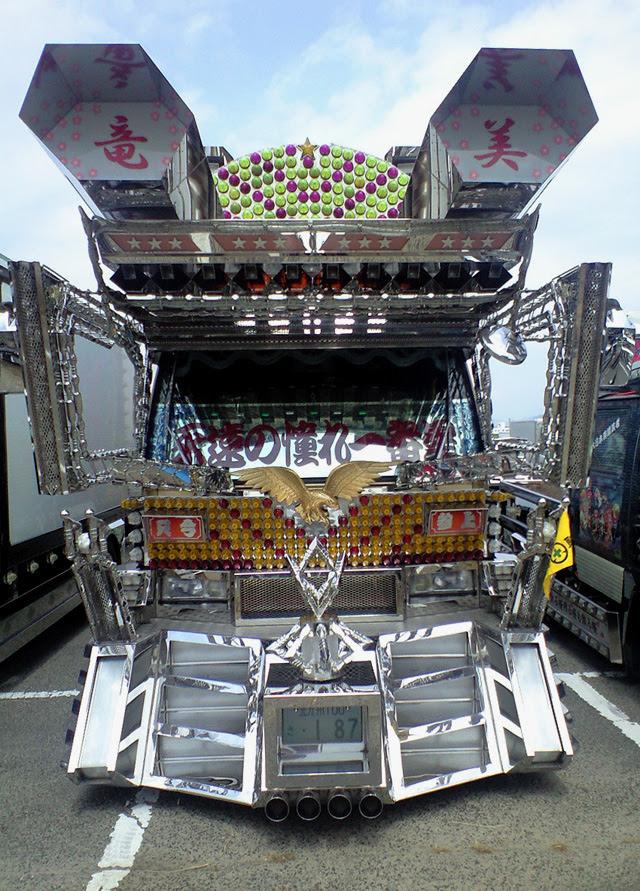 Gundam truck from Japan --