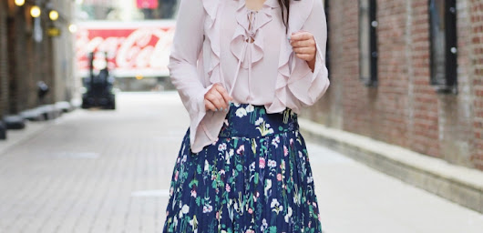 STYLING A FLORAL SKIRT - PART 2 - WAYS OF STYLE