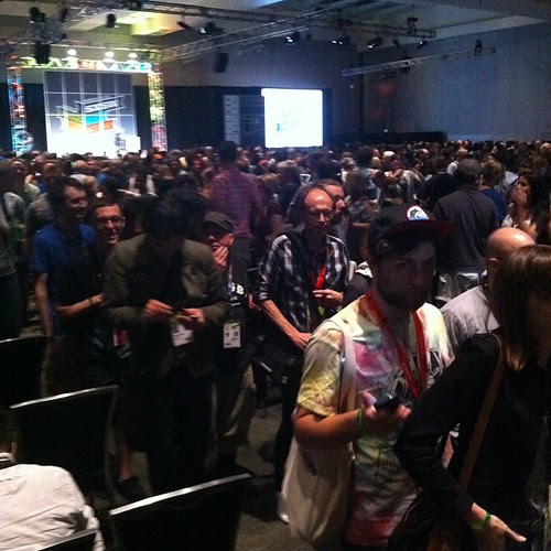 [Photo] AFTER Bruce Springsteen Keynote #sxsw LOL