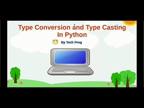 Type Converaion, Type Casting and eval()