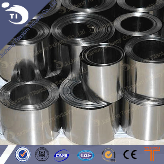 China Pure Titanium Foil with Coil Manufacturers, Suppliers, Factory, Wholesale - Products - Baoji Jucheng Titanium Industry Co.,Ltd