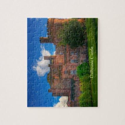 Dalhousie Castle, Midlothian, Scotland Jigsaw Puzzles