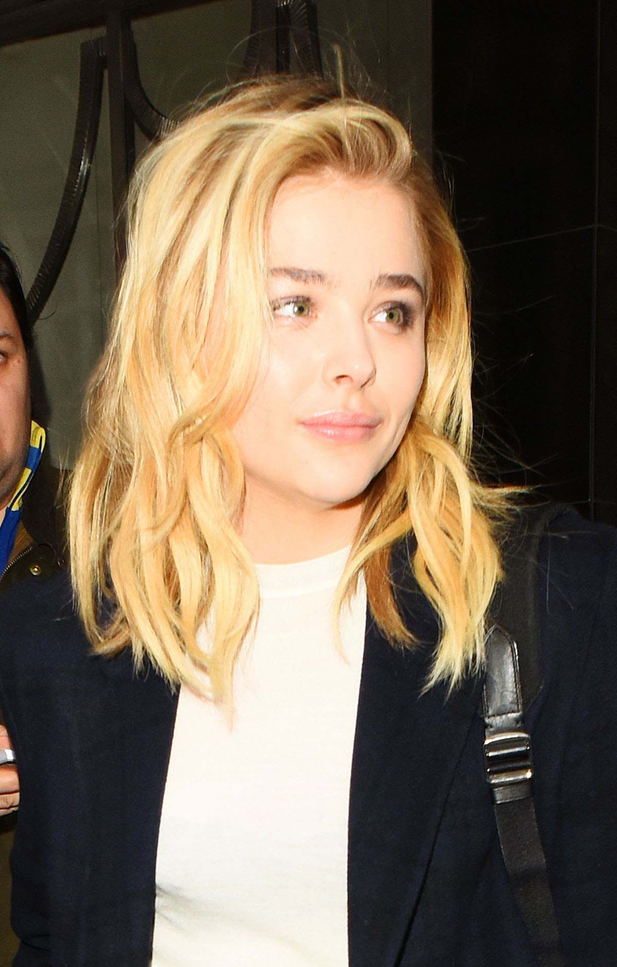 CHLOE MORETZ Leaves Claridges Hotel in London 04/25/2016