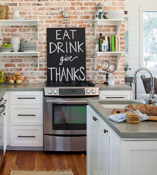 Using Chalkboard As A Home Décor: 13 Different Cool DIY Ideas | World inside pictures