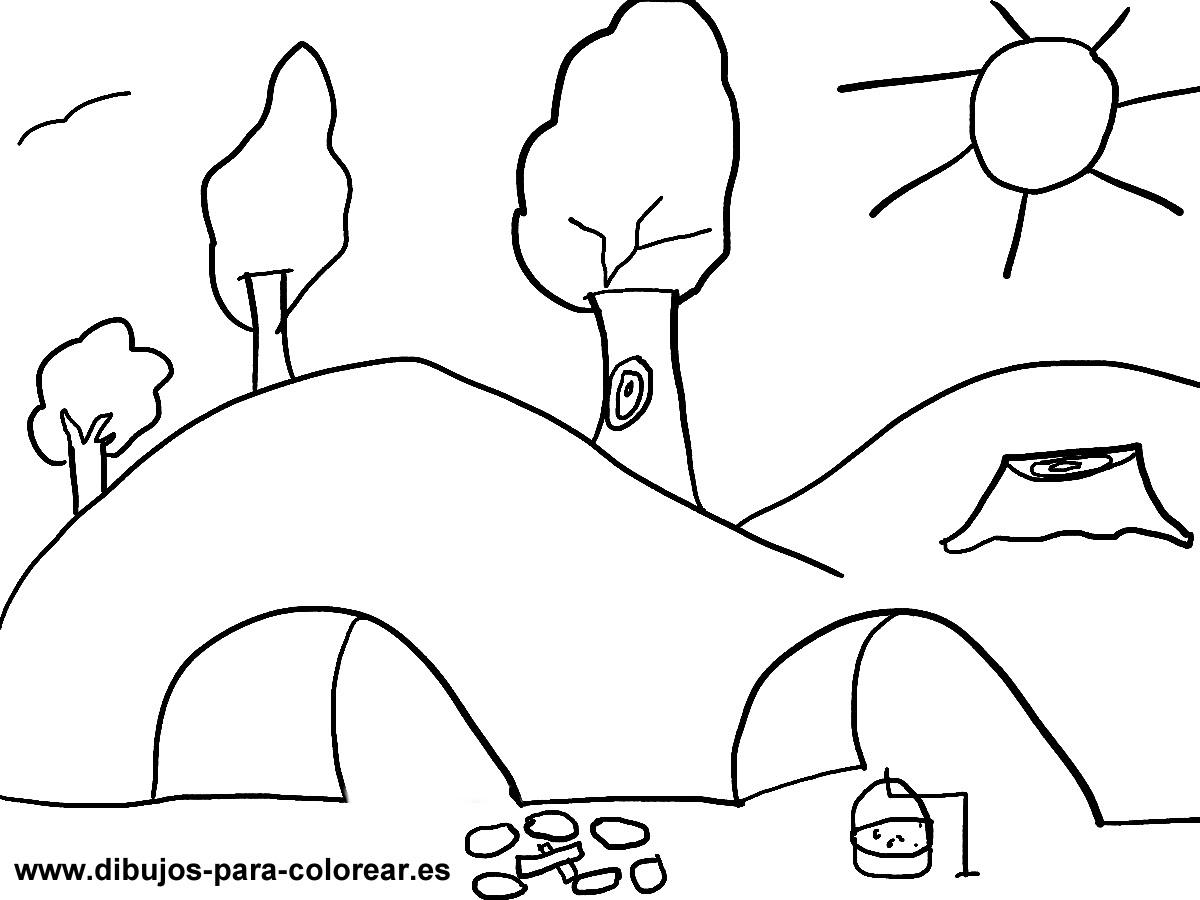 Arboles Dibujos Para Colorear
