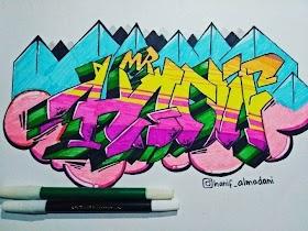 Grafiti Keren Indonesia