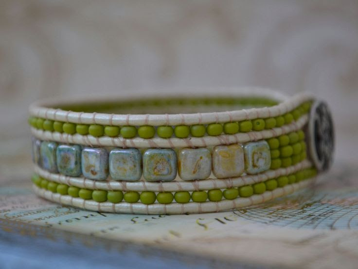 Beaded Wrap Bracelet Wrap Bracelet Beaded by corporateschmad, $40.00