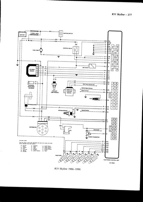I am looking for a wiring diagram on a Nissan Skyline 3.0