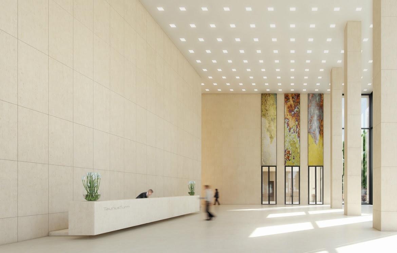 Contemporary Lobby Interior Design Ideas