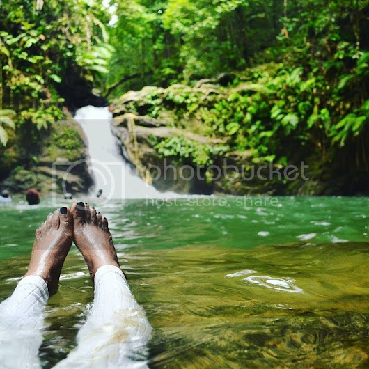 Journey to Rio Seco Waterfall | Deep Fried Stilettos
