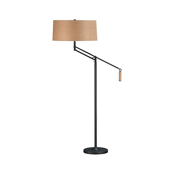 Autry Floor Lamp in Floor Lamps, Torchieres | Crate and Barrel