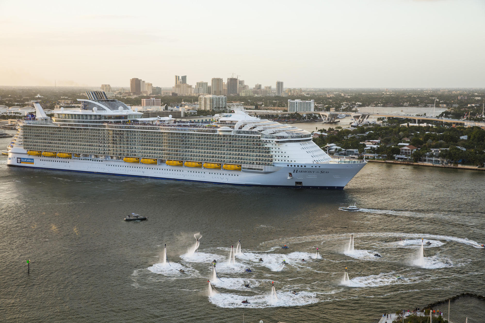 Royal Caribbean To Send Harmony Of The Seas To Port Canaveral