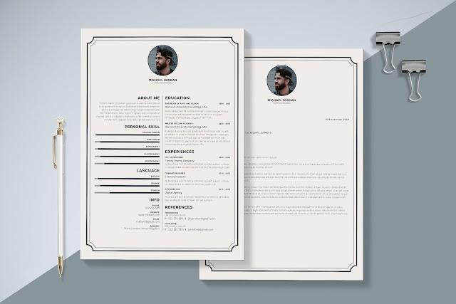 Elegant Resume & Cover Letter