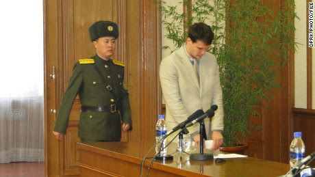 U.S. student held in North Korea 'confesses'