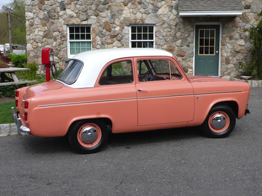 BaT Exclusive:  Time-Capsule 1958 Ford Anglia