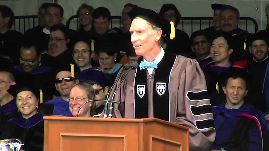 Commencement 2013 - Bill Nye Addresses Lehigh Graduates