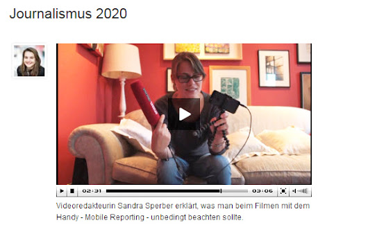 Mobile Reporting: Anleitung für iPhone-Videos | webvideoblog