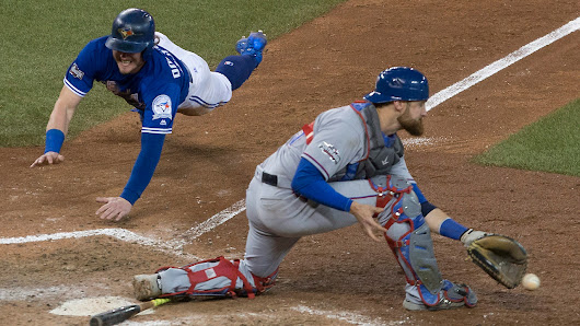 Blue Jays walk off on Rangers and into ALCS