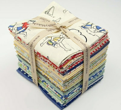 Giveaway! -- The enitre Riley Blake Seaside Fat Quarter Bundle!!