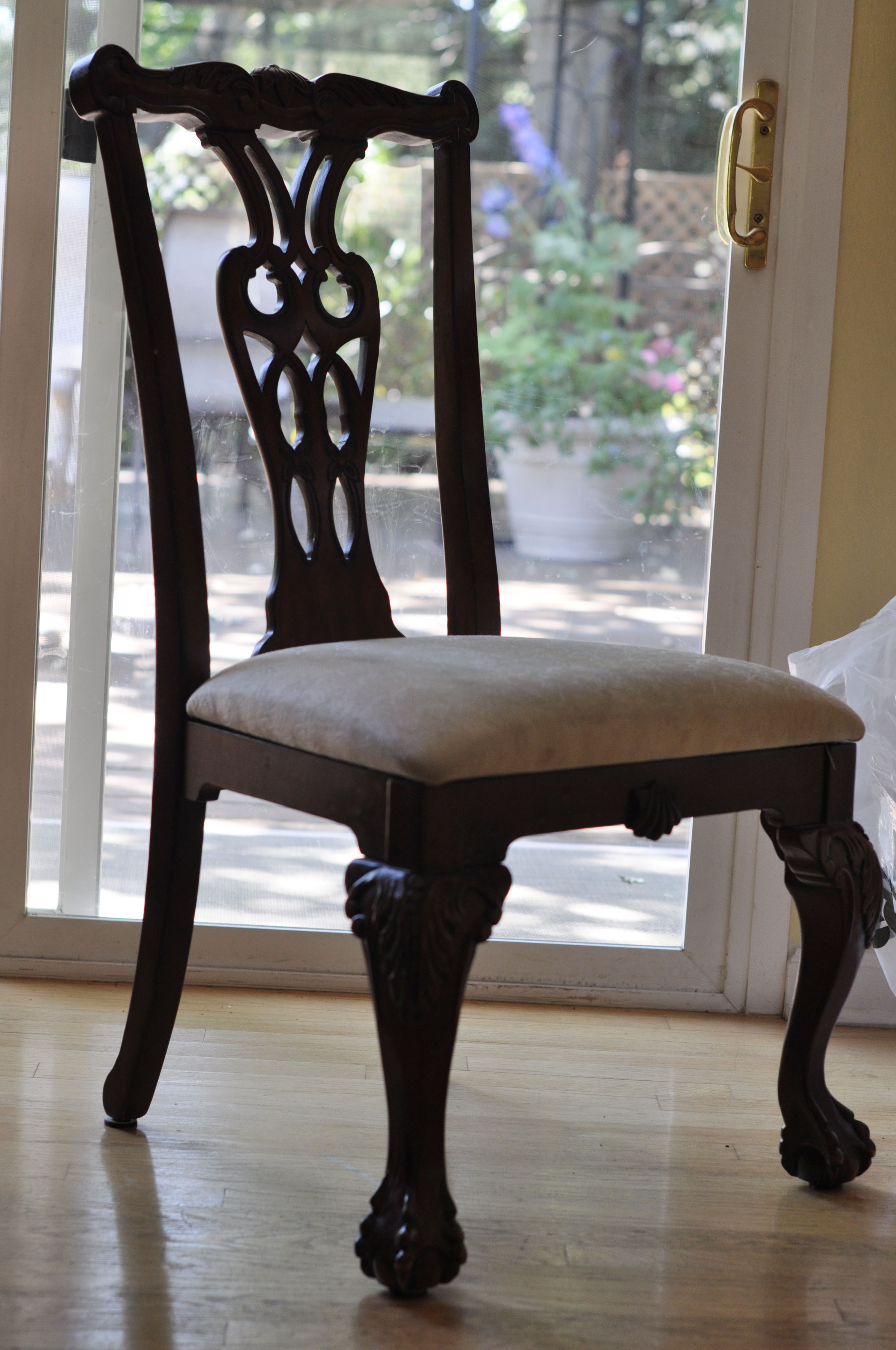 Fabric Dining Room Chairs
