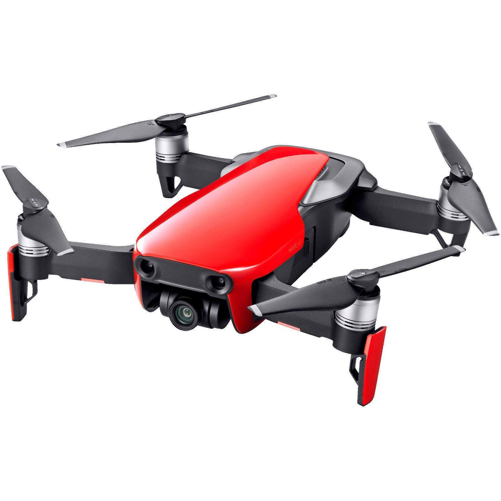 DJI Mavic Air Fly More Combo Flame Red Drone nu kun Kr. 7 ...