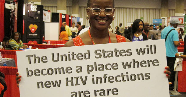 The United States will become a place where new HIV infections are rare.