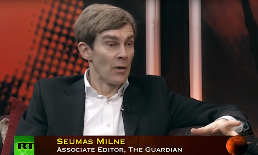 Seumas Milne: Yet another Corbynista who loves 'humanity' but appears to hate people