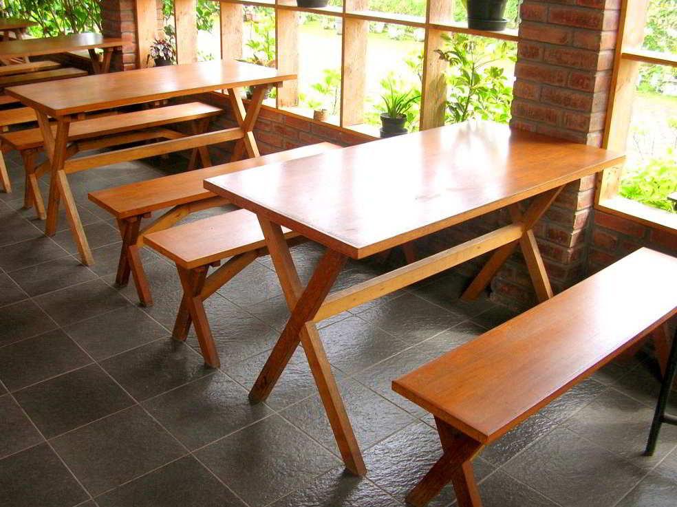 model desain meja dan kursi cafe minimalis murah terbaru