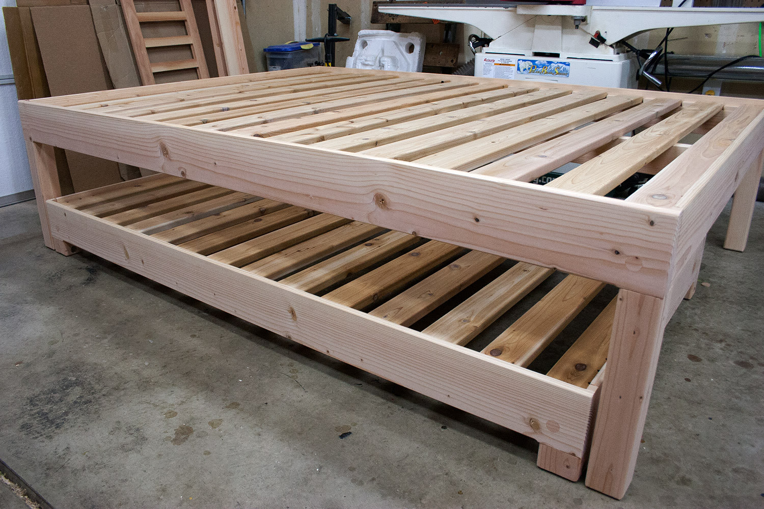 How To Build A Platform Bed Frame Plans Noreen Hammonds Blog
