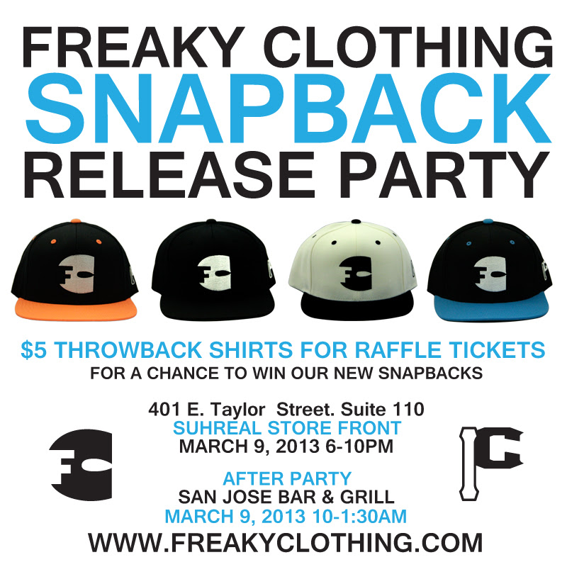 Snapback Release Party
